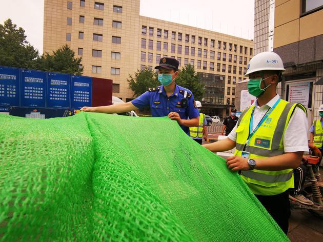 """北京高考考点周边500米工地施工要求""""无噪声"""""""