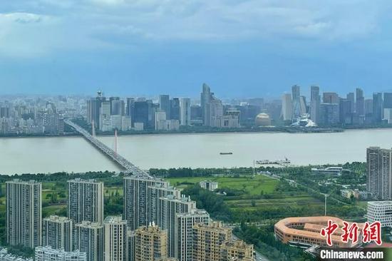 浙江杭州。 黄龄亿 摄