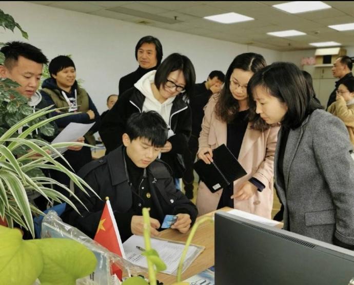 2019年张杰入职上海大学时照片
